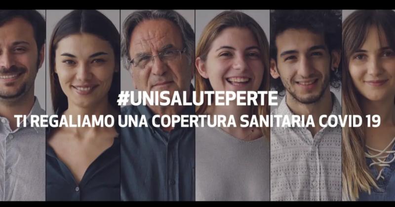 #UniSalutePerTe